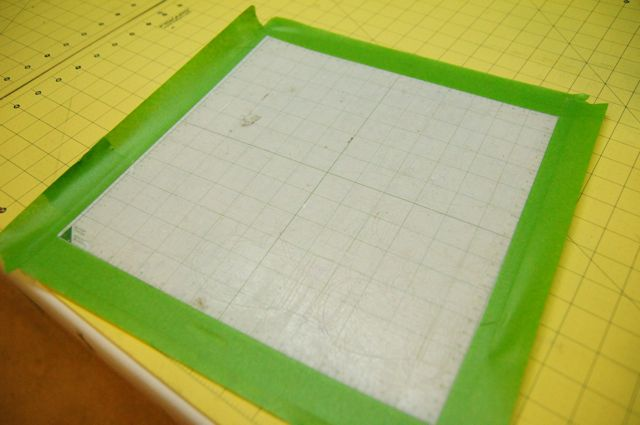 Make your cricut mat sticky again - The little Green Bean