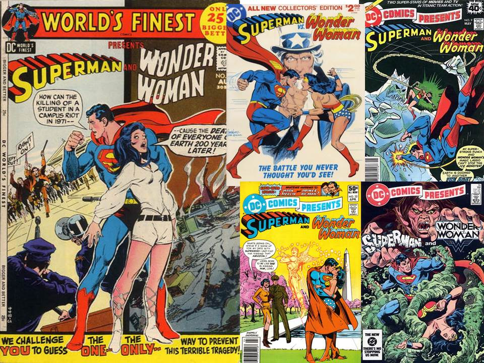 Superman Wonder Woman Comic