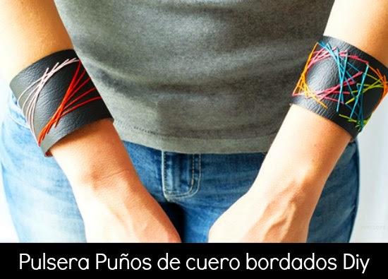 pulseras, bordadas, bisutería, brazaletes, labores, diys, manualidades