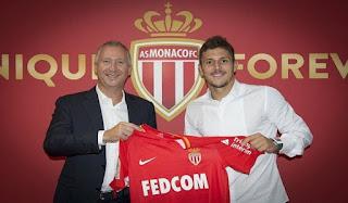 AS Monaco Perkenalkan Pemain Barunya