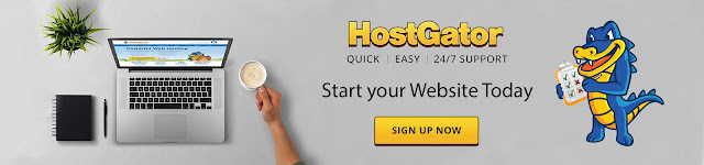 Domain and and Hosting with Hostgator ,one of the best web hosting company in the world
