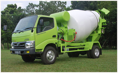 truk hino dutro 130 hd mixer surabaya