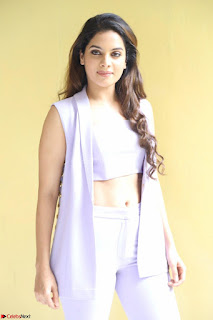 Tanya Hope in Crop top and Trousers Beautiful Pics at her Interview 13 7 2017 ~  Exclusive Celebrities Galleries 024.JPG