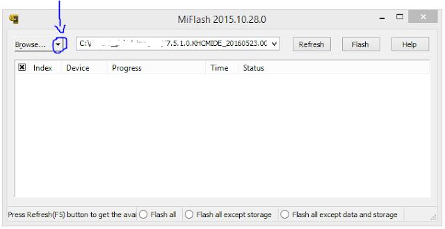 Cara Fastboot Xiaomi Mi Max 4
