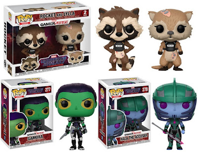 Guardians of the Galaxy The Telltale Series Pop! Figures by Funko x Marvel