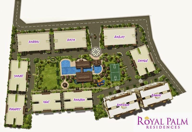 Royal Plam Residences Site Development Plan