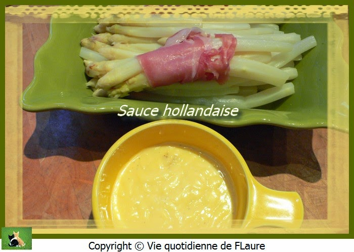 Vie quotidienne de FLaure: Sauce hollandaise