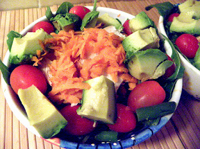 Salad with Chicken for Protein