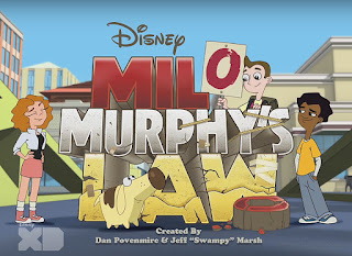 Disney XD Milo Murphy's Law Cartoon Series with Al Yankovic