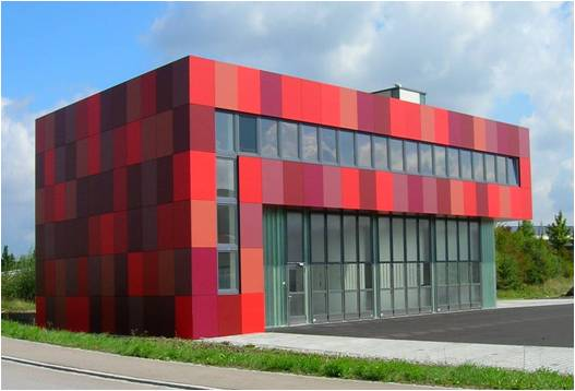 Exterior Metal Cladding Systems : Architecture student s corner fundermax wall cladding system