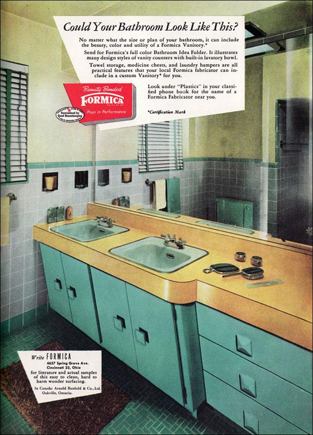 Mid2Mod: Mid-century bathrooms