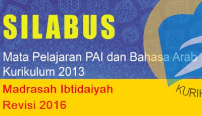 Silabus Aqidah Akhlak MI Kelas 1|2|3|4|5|6 Kurikulum 2013 Revisi Terbaru (Update 2017)