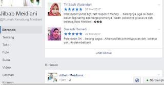 Testimoni Pelanggan Jilbab Meidiani