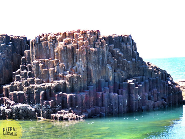 Hexagonal Columns of St. Mary's Island