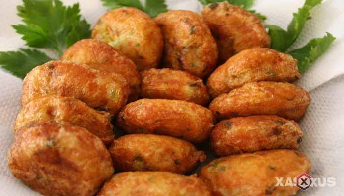 Resep cara membuat perkedel kentang Padang