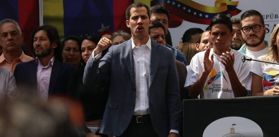 Juan Guaidó calificó a Nicolás Maduro como usurpador del poder / TWITTER