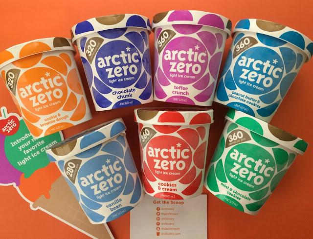NEW! Arctic Zero Light Ice Cream Review