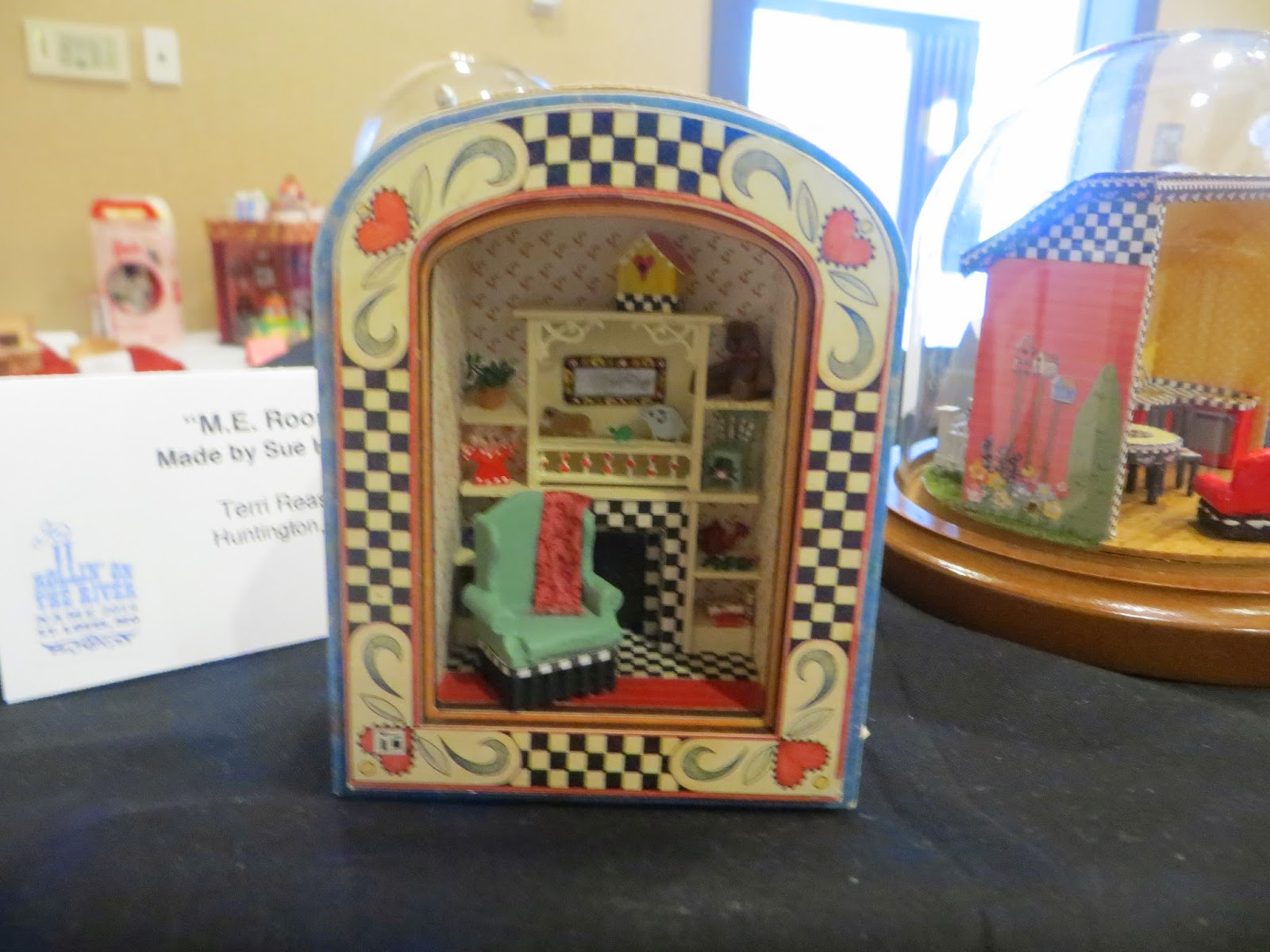 The Peripatetic Miniaturist St Louis Name Exhibits