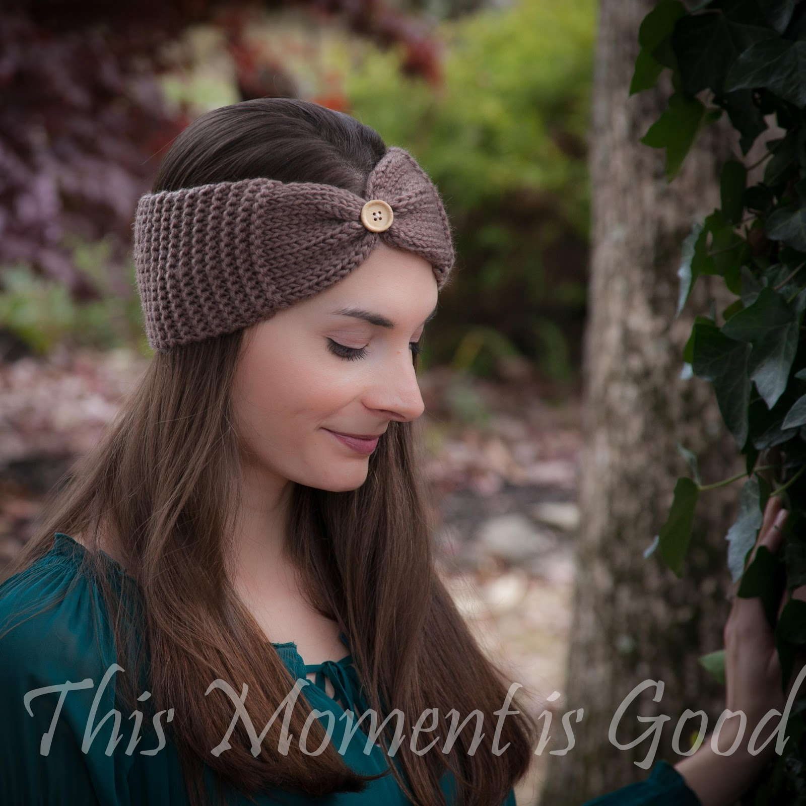 Loom Knit Headband Pattern Free Loom Knitting By This Moment Is