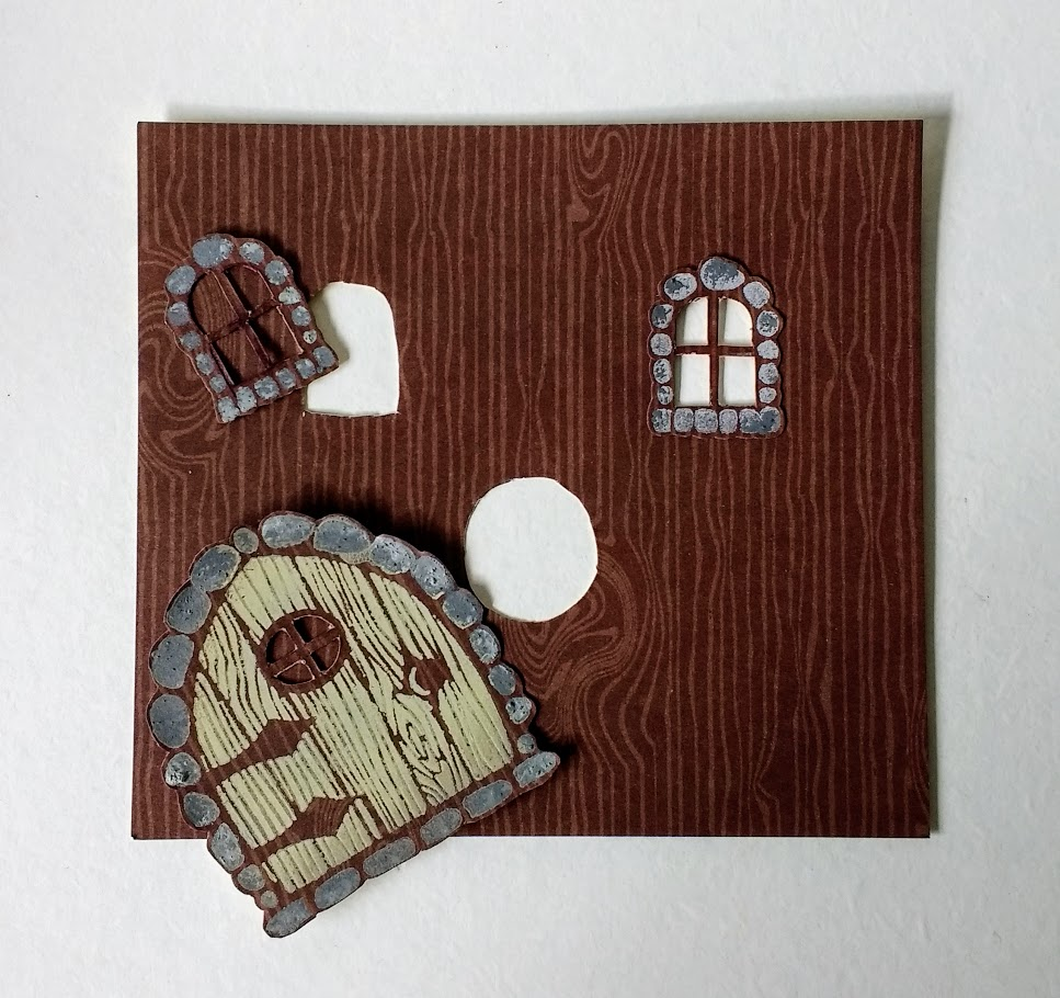 A Passion For Cards: To make a fairy house frame - Plaid Crafts