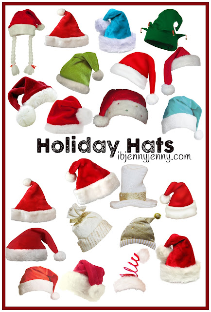 holiday hats preview