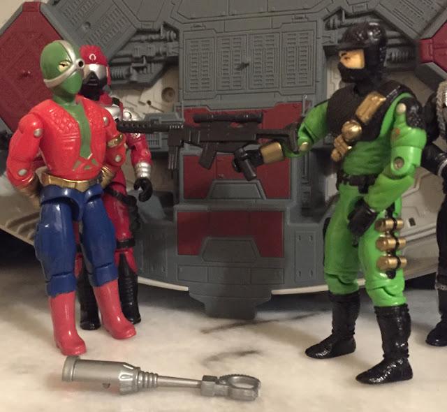 1992, X-Ray Eye, Power Commandos, Terror, Lucky Bell, 1991 Crimson Guard Immortal, 1993, Firefly, Cobra Commander