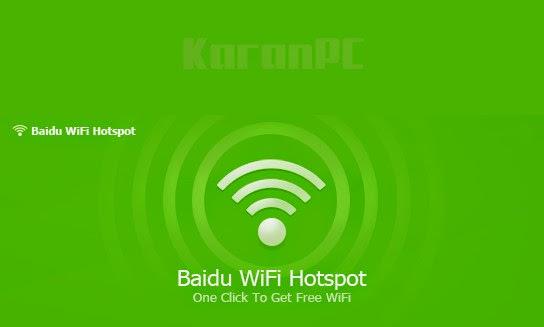Baidu WiFi Hotspot Free
