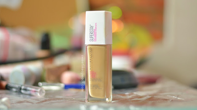 Review Maybelline Superstay 24HR Full Coverage Foundation by beauty blogger Indonesia