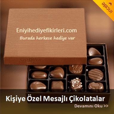 Hediyelik çikolatalar