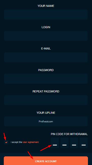 Регистрация в TECHX 2