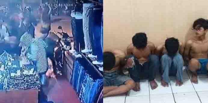 26 Orang Geng Motor Yang Jarah Toko 24 Jam di Depok Akhirnya Dicyduk Polisi