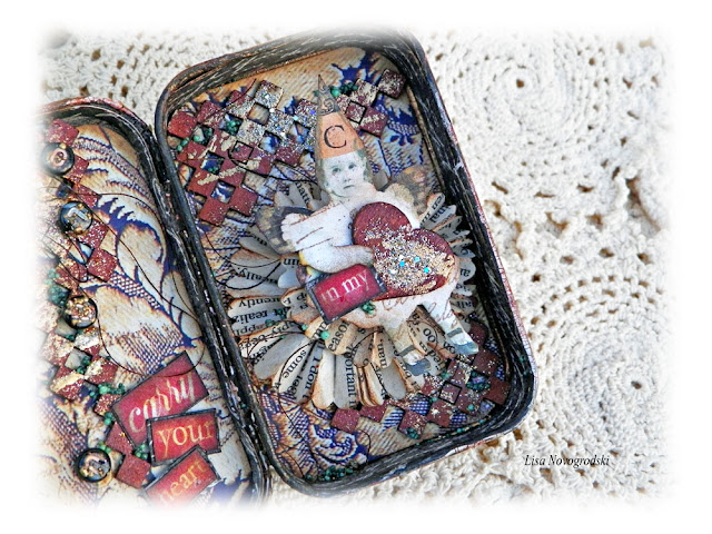 Altered Altoid Tin by Lisa Novogrodski