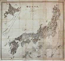 Gambar Inō Tadataka Peta