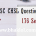 SSC CHSL Question Paper 176 Sets PDF Download | 2008 to 2017