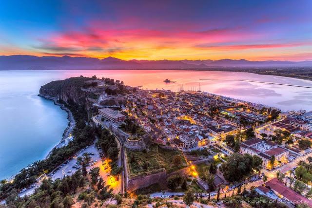 Την 3η θέση στις προτιμήσεις των Ελλήνων ταξιδιωτών κρατάει το Ναύπλιο