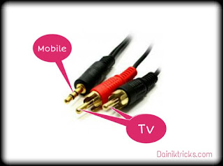 mobile to tv connection cable