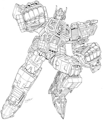 Transformers Coloring Pages Optimus Prime >> Disney