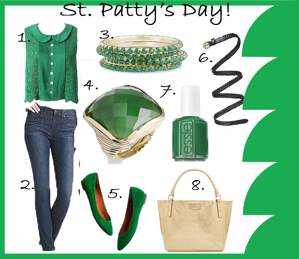 Sweating In Style Outfit Ideas St Pattys Day Partying