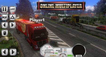 لعبة Euro Truck Evolution Simulator apk افضل لعبة قيادة شاحنات للاندرويد