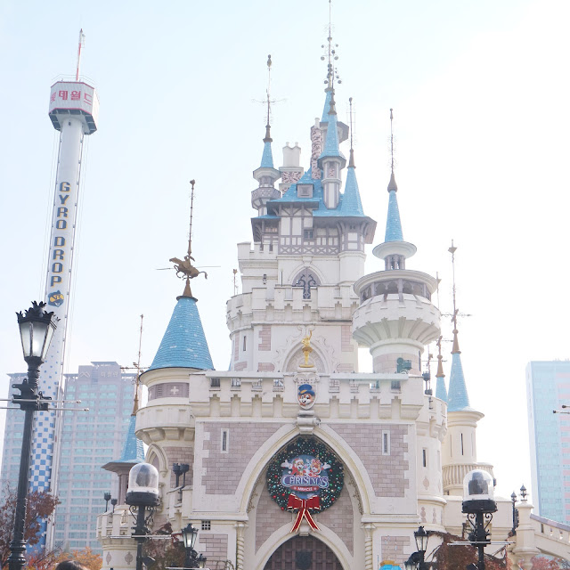 lotte world roller coaster