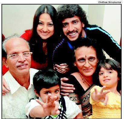 Upendra's family