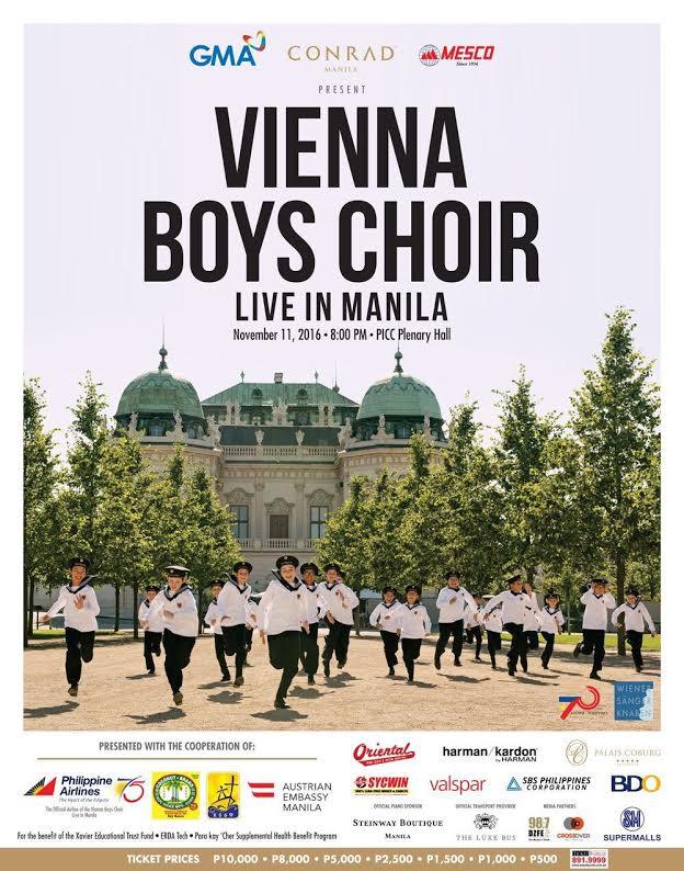 Vienna Boys Choir Us Tour