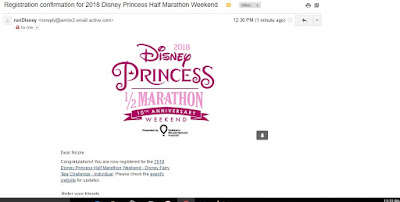 Disney Half Marathon Run