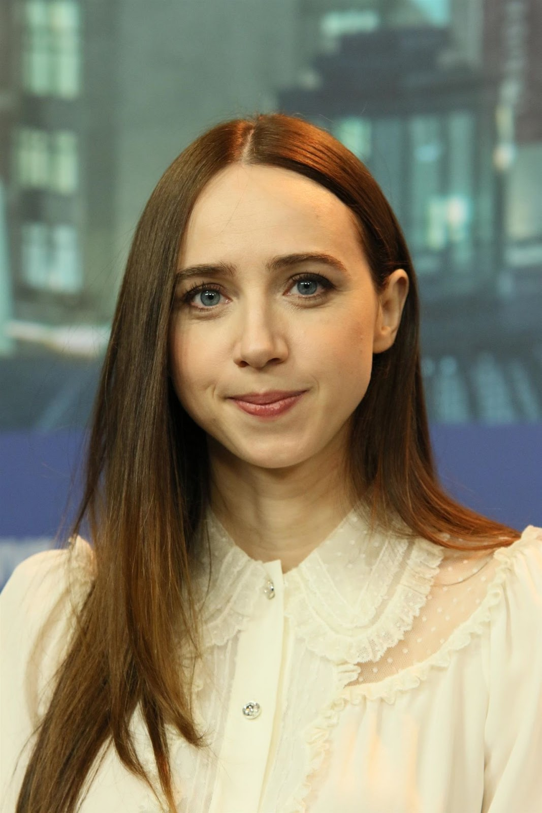 Zoe Kazan At The Kindness Of Strangers Press Conference in ...