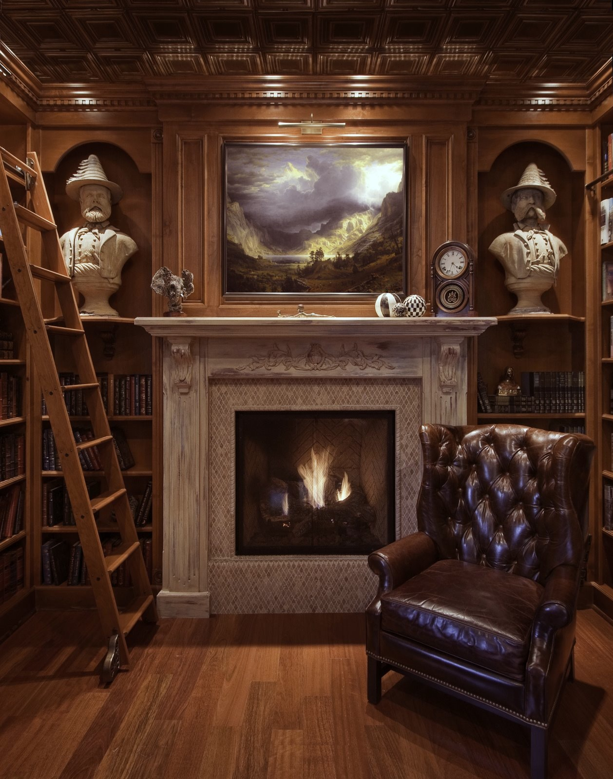 Gentleman's Parlor on Pinterest | Masculine Living Rooms ...