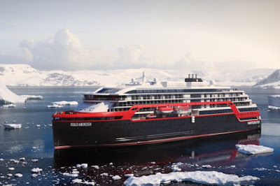 Roald Amundsen and Fridtjof Nansen - Hurtigruten New Ships 2018 2019