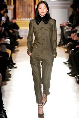Military chic Trend - Barbara Bui - Fall Winter 2012