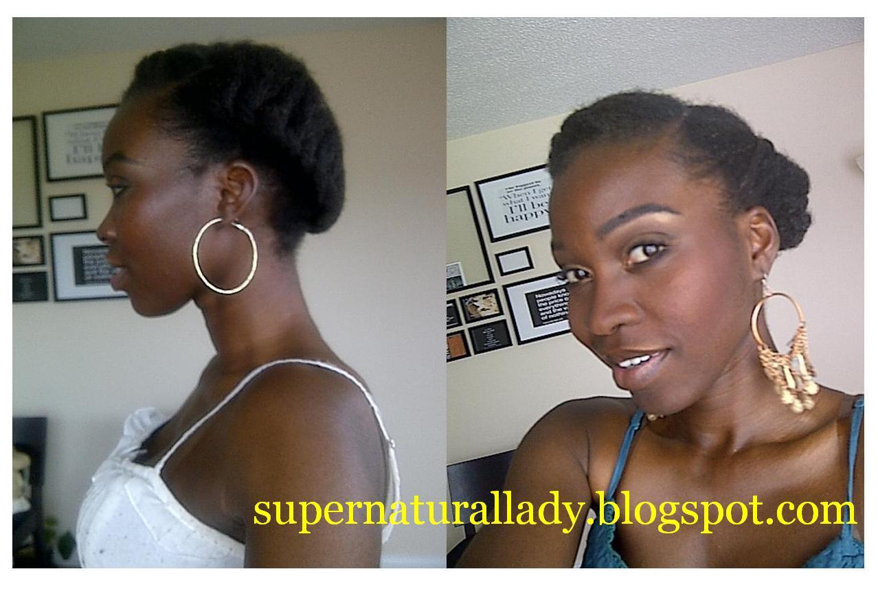 Super Natural Lady Short Natural Hair Tutorial Tumblr Request