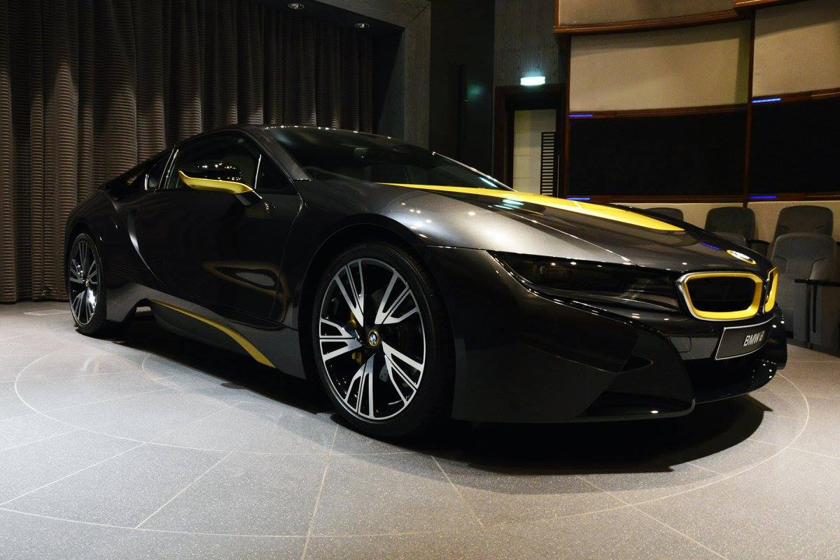 Gti Performance Package >> BMW i8 Looks Sleek In Sophisto Grey with Austin Yellow Accents