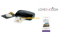 Logo Regina: vinci gratis 60 buoni LoveThEsign, 480 codici Infinity e 15 macchine sottovuoto